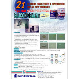 Multi-Functional Special Silicon Cement For Indoor Use