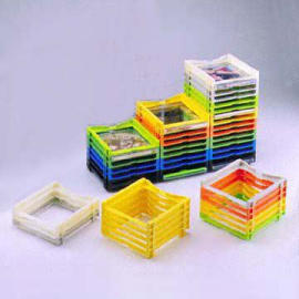 DIY CD Rack in Colorful Design
