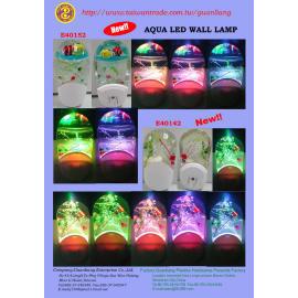 Aqua LED wall light (Аква видеоэкране света)