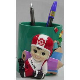 Tatung boy pen holder