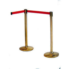Crowd Control Stand with Retractable belt (Brass) (Crowd Control Стенд с убирающимся ремнем (литье))