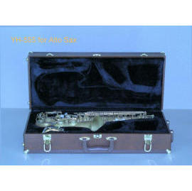 YH-555 Wooden Case for Alto Sax (YH-555 деревянный футляр для альт-саксофон)