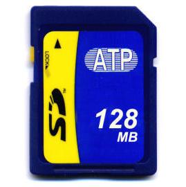 ATP 128MB SD Card (СПС 128MB SD Card)