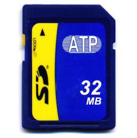ATP 32MB SD Card