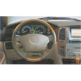 Wooden Steering Wheel (Деревянный руль)