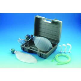 Silicone Manual Resuscitator With B Type Gray Carried Box. (Silikon-Beatmungsbeutel Manual Mit B Typ Gray Carried Box.)