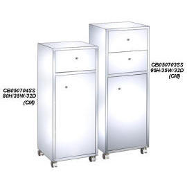 K/D STAINLESS STEEL BATH CABINET