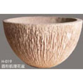 Round Veins Pot