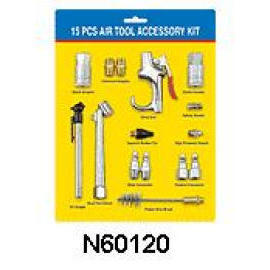15 PC AIR TOOL ACCESSORY SET