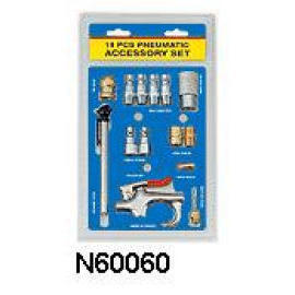 14 PC PNEUMATIC ACCESSORY SET