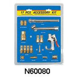 17 PCS AIR ACCESSORY SET