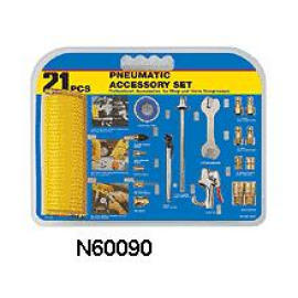 21 PC PNEUMATIC ACCESSORY SET