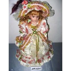 porcelain doll gift (подарок фарфоровую куклу)