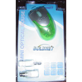 Optical Mouse - Green