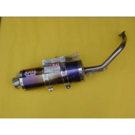 S6 motor exhaust pipe (S6 Motor выхлопной трубы)