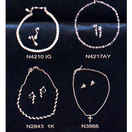Necklace set, Earring (Колье, серьги)