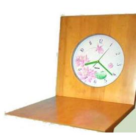 Bamboo Z style chair clock (Бамбук Z стиль Председатель часы)