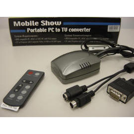 Compact PC to TV converter for Notebook & Laptop