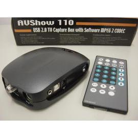 USB 2.0 TV Capture box w/ MPEG 2 CODEC