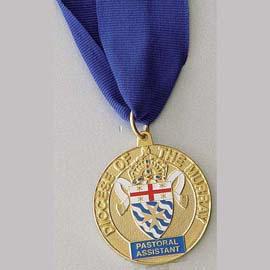 Pastoral medallion