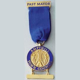 Past mayor medallion
