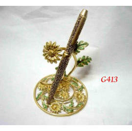 G-413 Metal Pen w/stand (Special Effect)
