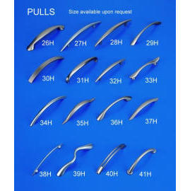 Zinc Alloy Pulls (Цинковый сплав дверей)