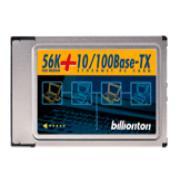 56k+10/100 PCMCIA Card (56K 10 / 100 карты PCMCIA)