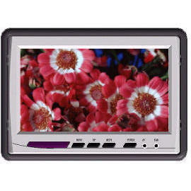 7`` wide TFT Monitor(16:9/headrest) (7``Wide TFT-монитор (16:9 / подголовник))