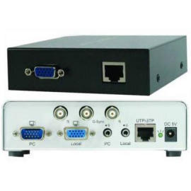 VGA Audio Extender via Cat.5(KVM switch/over ethernet)