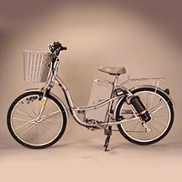 GP-24S-4 Electric Bicycle(silvery white)
