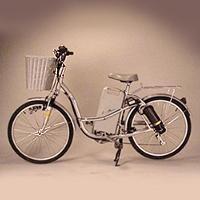 GP-24S-4 Electric Bicycle(silvery white) (GP 4S-4 электровелосипеды (серебристо-белый))