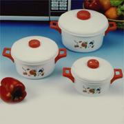 3-size Pot with Lid, YH-8035RF (3-размер банка с крышкой, YH-8035RF)