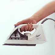 A-2001 Steam and Dry Iron with Teflon Soleplate