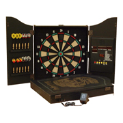 Wooden cabinet Electronic dartboard