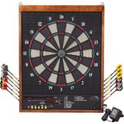 Wooden Frame Electronic dartboard