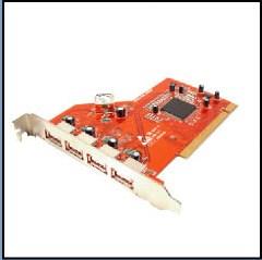 USB 2.0 PCI Host Card (USB 2.0 PCI Host Card)