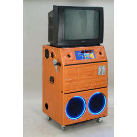 Juke Box Karaoke Machine Cabinet (Juke Box Karaoke Machine Cabinet)