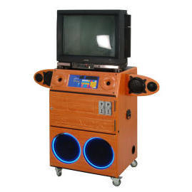 Juke Box Karaoke Machine Cabinet