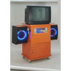 Juke Box Karaoke Machine Cabinet