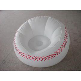 Inflatalbe Baseball Sofa