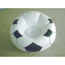 Aufblasbare Fußball Sofa (Aufblasbare Fußball Sofa)