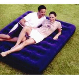 Queen size Flocked Air Bed