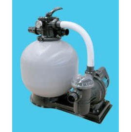 Filtration system with Pump