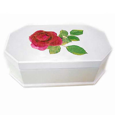 Hand-painted Rose Music Boxe (Ручная роспись Rose Music Boxe)