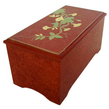 Hand-painted Narcissus Jewelry Boxes (Ручная роспись Нарцисса шкатулки)