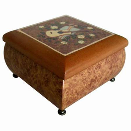 Hand-painted Classical Music Boxes (Ручная роспись Классические музыкальные шкатулки)