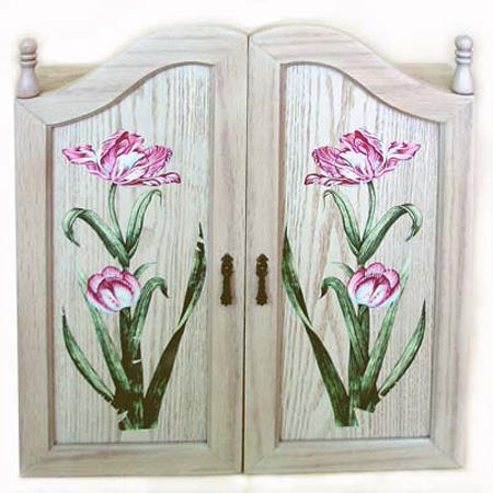 Tulip Jewelry Wall Case (Тюльпан украшения стенной шкаф)