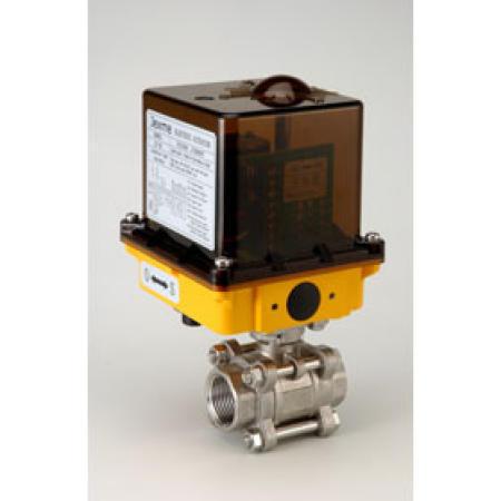 3PC BALL VALVE WITH ELECTRIC ACUATOR (3PC шаровый кран с ELECTRIC ACUATOR)