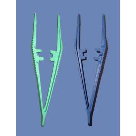 Plastic Forceps~7 - Disposable Instrument for Medical use (Пластиковые Пинцет ~ 7 - одноразовый инструмент для медицинских целей)